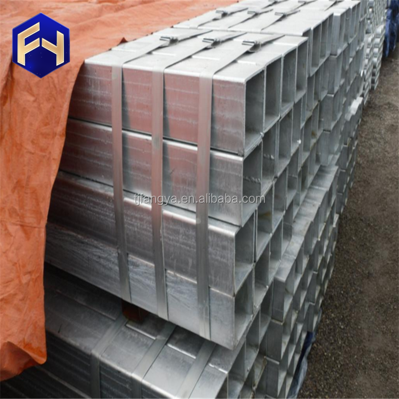 Hollow ! gi rhs steel size galvanized hollow section pipe weight price per kg with CE certificate
