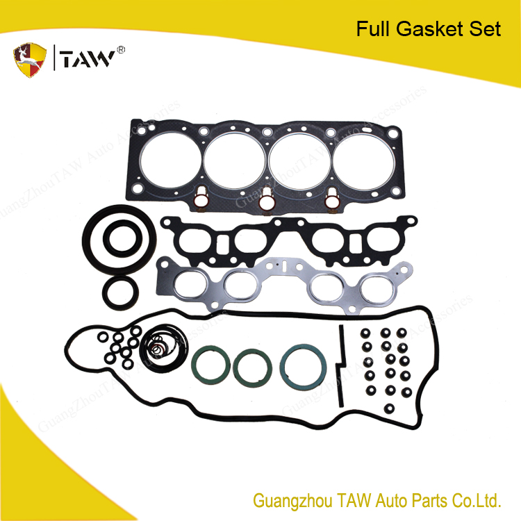 automobiles & motorcycles used cylinder heads sale overhauling gasket kit 5SFE for peugeot 406