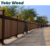 wood plastic composite fence wpc railing post square tube beam manufacture price