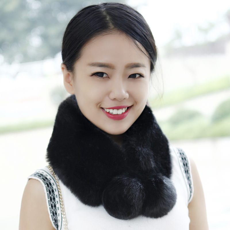 The new Korean font b winter b font grass leather fur collar ball font b winter