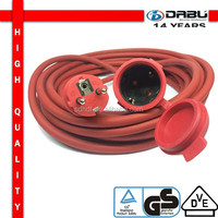 H05VV-F 3G1.5 European Wholesale Outdoor Practical Extension Cable