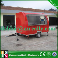 China australia standard mobile food trailer for popular selling
