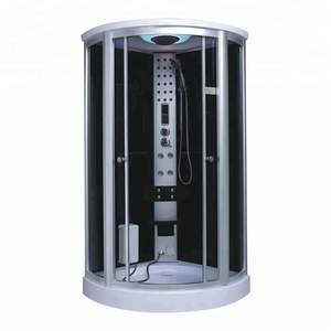 Luxury Acrylic Corner Steam Shower Room High-Quality Computer Control Panel 1 Person Steam Combined Room For Sale