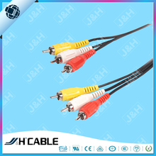 Hot Sale 3 RCA -3 RCA Vedio Cable RCA Cable