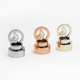 Custom Shape Metal Zinc Perfume Spray Zamac Cap With different Colors