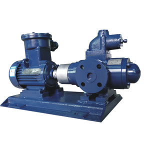 High viscosity Drum Triple Horizontal Three Screw Pump with flexible shaft