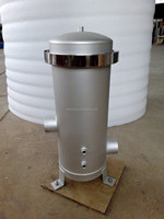 top closure stainless steel cartridge filter housing