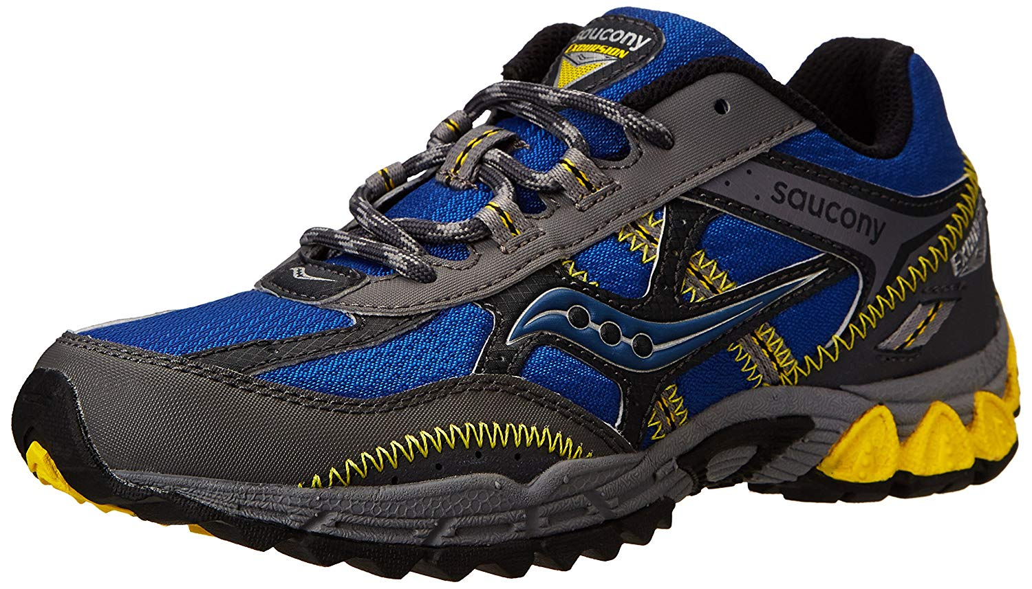 4ce9aba6 Get Quotations · Saucony Boys' Excursion Running Shoe (Little Kid/Big ...