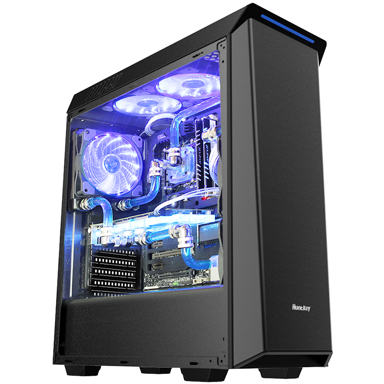 JNP PC panel ATX gaming computer case