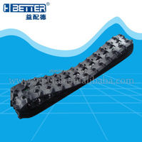 small robot rubber track snowmobile rubber track