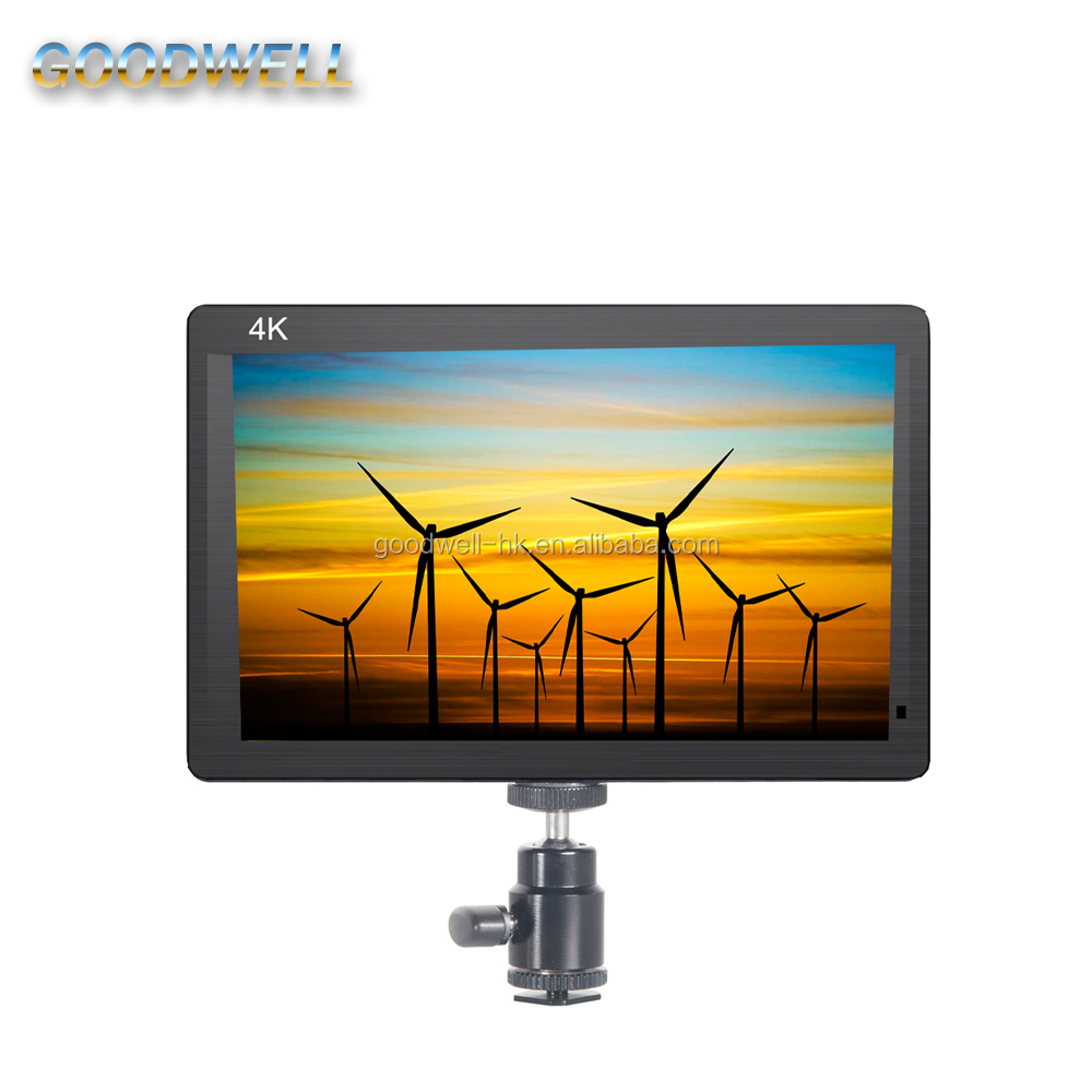 Newly Come Out HDMI Input& Output 1920X 1200 IPS Panel 7 inch Portable Video Monitor for Camera with Camera Mode
