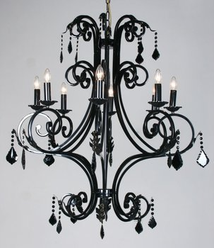 Big antique iron frame paint black chandelier for hotal buy black big antique iron frame paint black chandelier for hotal aloadofball Images