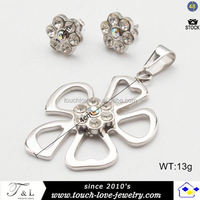 Touchlove teel time jewelry earring setting without stone