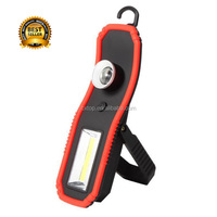 USB Rechargeable XPE COB Strobe Led Work Light