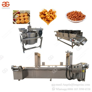 Malaysia Automatic Double Basket Lift Fried Chicken Tortilla Chips Deep Fat Frying Equipment Commercial Kentucky Gas Fryer Price