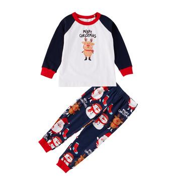 Groothandel Babykleding.2018 Groothandel Baby Kleding Set Meisjes Pyjama Familie Kerst