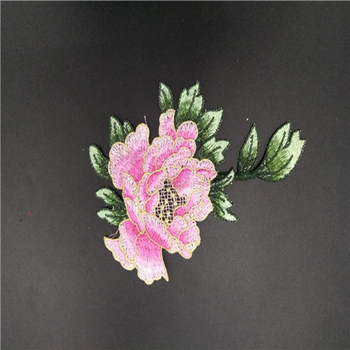 Wholesale New Design China Embroidery Flower Rose Patches - Buy Embroidery  Blank Patches,Small Flower Patches,Embroidery Blank Patches Product on
