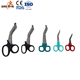 Different types of trauma bandage stainless steel scissors