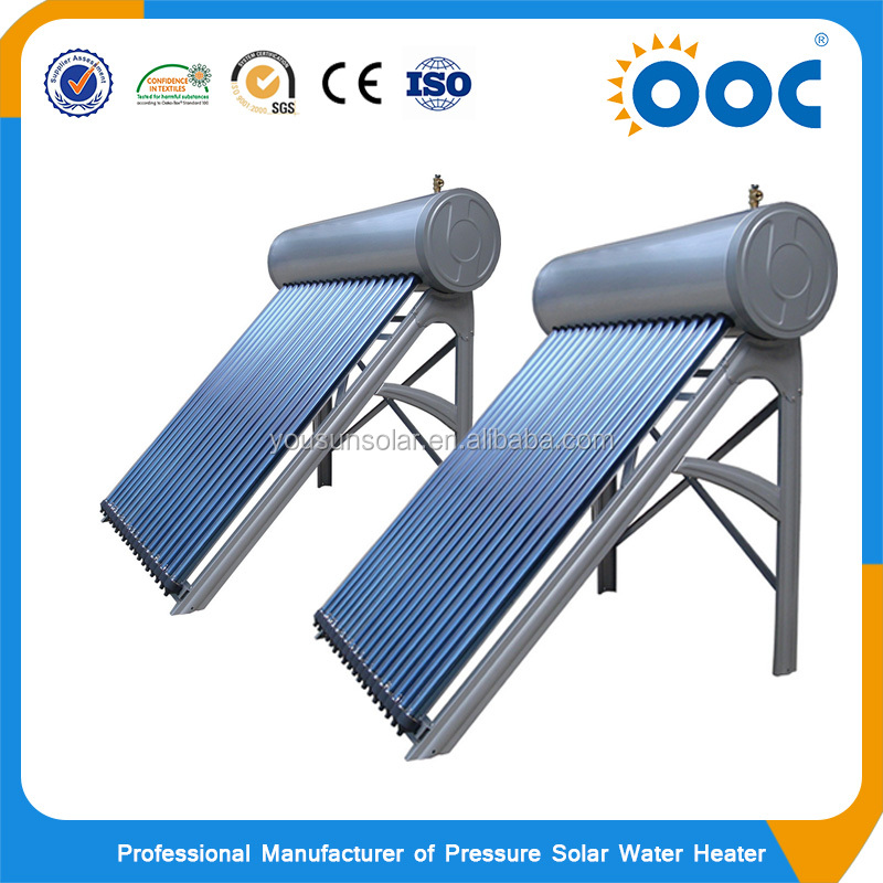 Open Loop High Quality Heater Systems Pressured Solar Water Heater