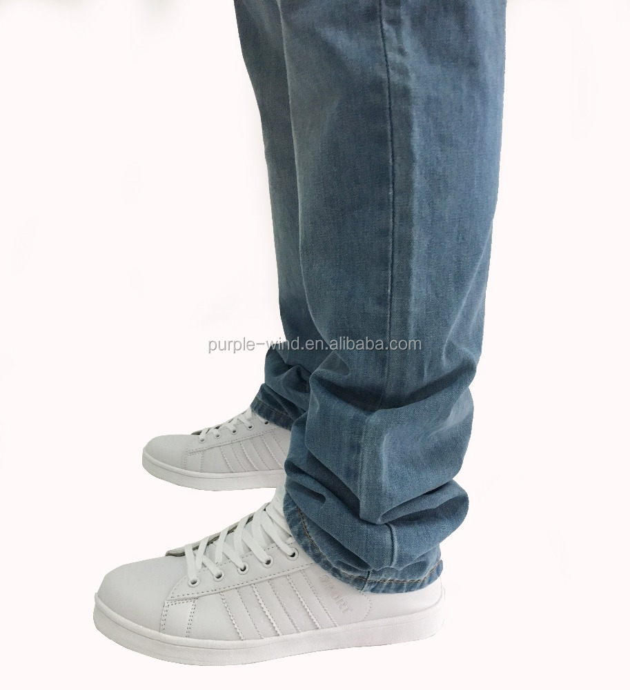 New design straight bootcut jeans pants denim for men