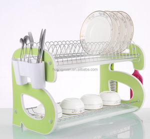 Hot Sales kitchen dinner plate storage decorative dish rack