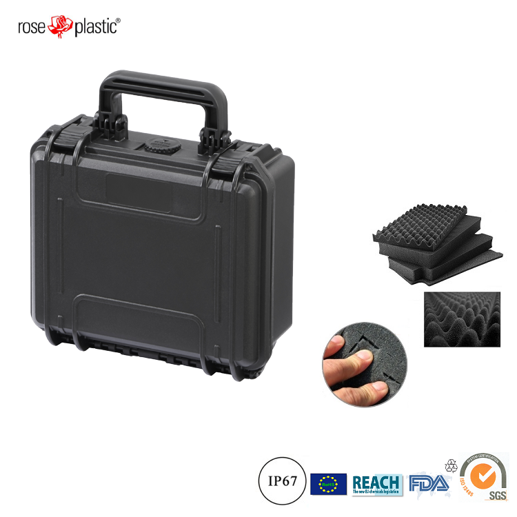 Handheld hard durable plastic section case with IP67 waterproof RC-PS 180