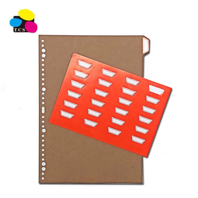 A4 High Quality Paper Index Divider For File Folder