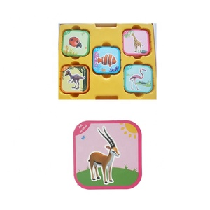 Professional manufacturer 4D animals ar card kid early educational toy
