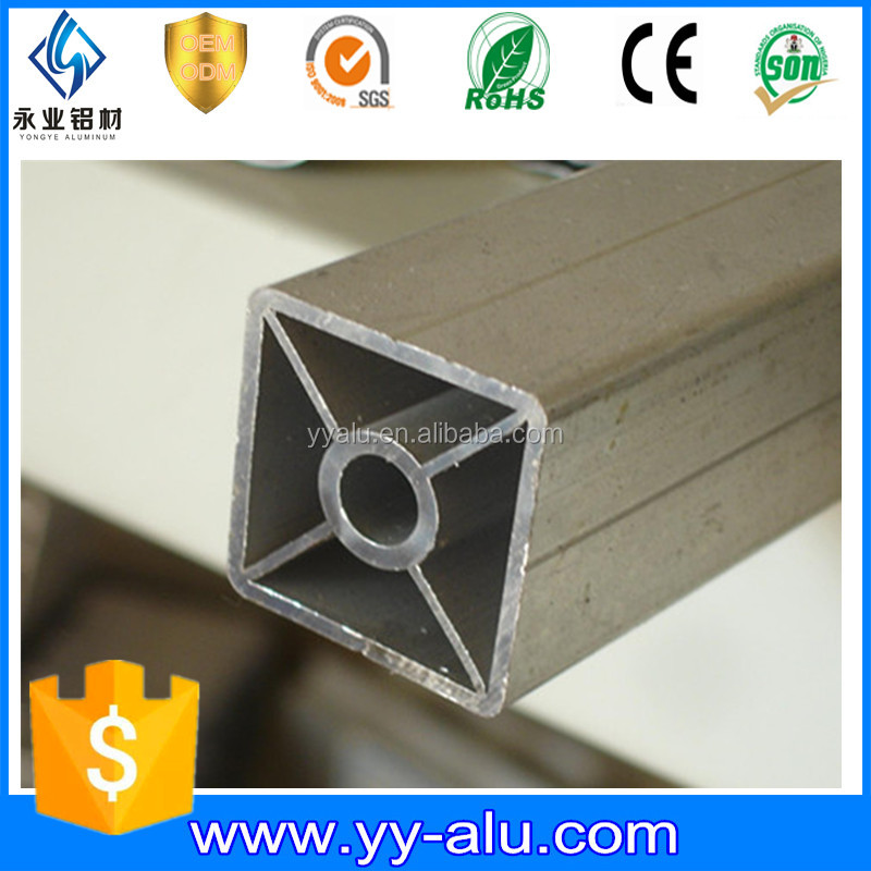 20 a os de garant a 6063 tubo cuadrado de aluminio de - Perfil cuadrado aluminio ...