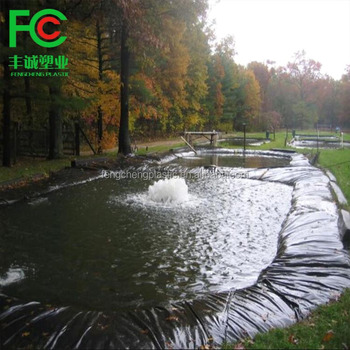 Manufacture High Quality Pool Lining Waterproof Plastic Sheet For Artificial Lake