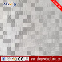 600*600 6JS023 Quality Glazed Metallic Ceramic Mosaic Tiles Bathroom Flooring Decoration With Good Price