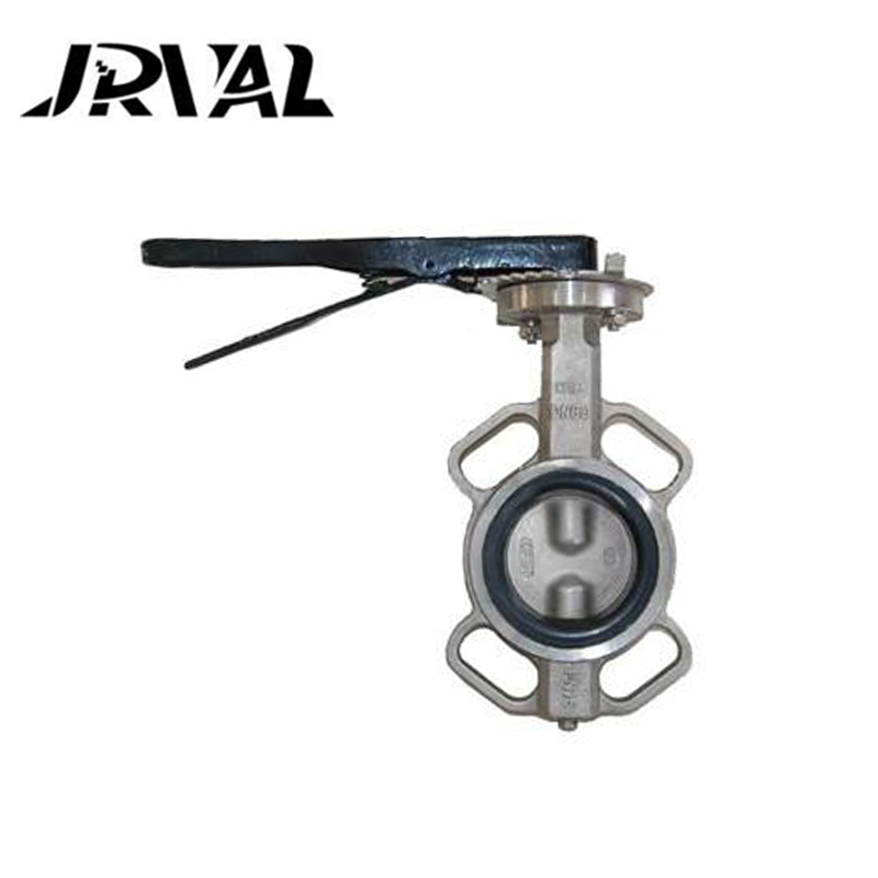 Installed at any position non corrosive gases high performance butterfly valves