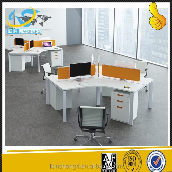 2017 Neue Modell Arbeitsplatz Für 3 Personen Büro Tisch