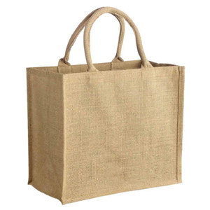 Cheap Natural Recycle Foldable Carry Jute Shopping Bags Manufacturer