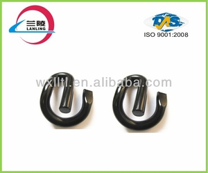 Railway clamp fastener in hardware