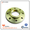 din 2633 cs and ss yellow paint forged wn flange