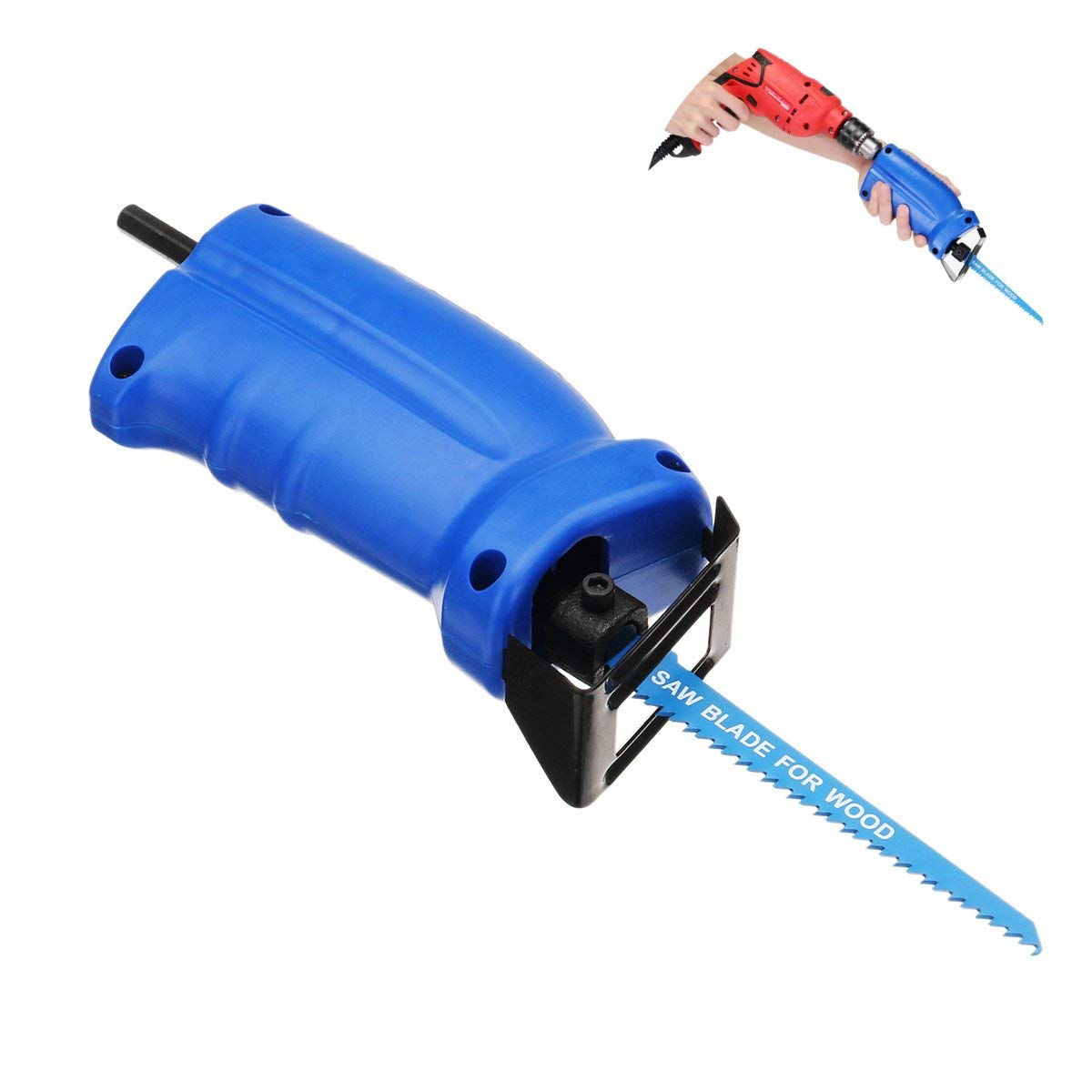 Get Quotationommy Drillpro Portable Reciprocating Saw Adapter Set Changed Electric Drill Into