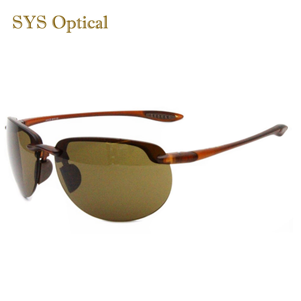 Rimless tr sunglasses gently sports sun glasses