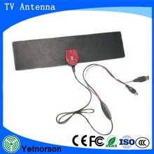 Flat design Digital Indoor Antenna TV HDTV 1080P DTV Box Ready Flat Antenna