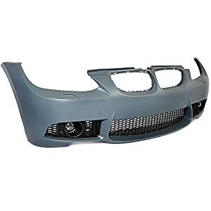 BMW E92 3-Series 07-10 W/O PDC M3 Style Front Bumper Cover Clear Projector Fog
