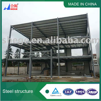 steel structure building plans