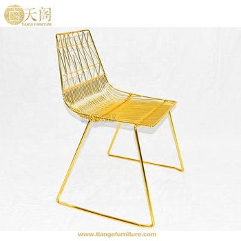 Cool Mid Century Modern Design Gold Copper Stainless Steel Bend Wire Lucy Side Dining Chair Buy Lucy Side Dining Chair Stainless Steel Dining Chair Gold Forskolin Free Trial Chair Design Images Forskolin Free Trialorg
