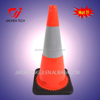 700mm 28 inches Reflective PVC traffic cones