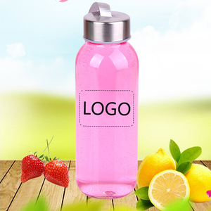 No Minimum Wholesale custom logo 300ML glass material infused water drinking bottles with stainless steel lid