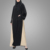 New Fashion Design Long Sleeves Perfect Match Pearl Embroidered Abaya Dress Muslim Kaftan Islamic Clothing