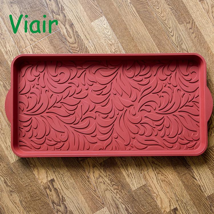 Anti-Slip Multi-Purpose plastic Boot Tray & Pet Feeding Mat for Boots, Shoes, Paint, Dog Bowls, Cat Litter Box