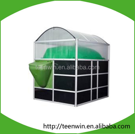 Teenwin domestic portable soft anaerobic biogas plant/digester to farm waste