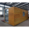 Alibaba mobile portable luxury durable modern wooden steel glass log cabin low cost prefab shipping container homes