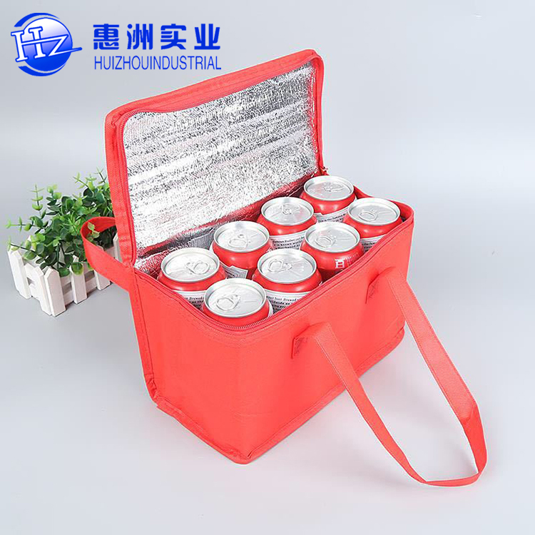 Eco Friendly Reusable Custom Logo Insulated Tote Cooler Bag For Food