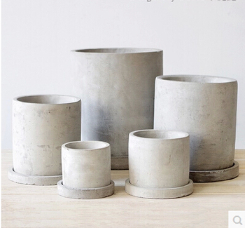 Pot Beton new design flowers & plants concrete pot concrete water pan - buy